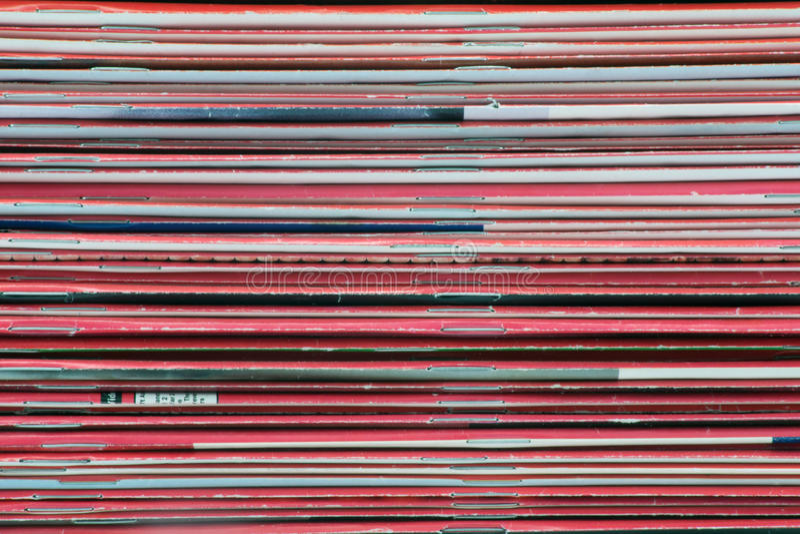 Hintergrund der Zeitschriften lizenzfreie stockfotos