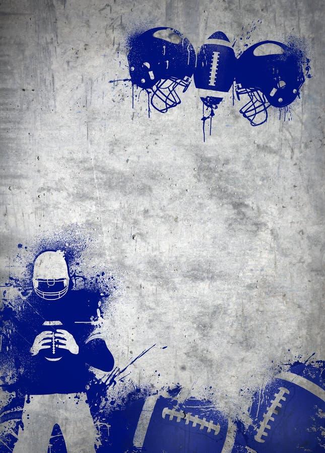 Hintergrund des amerikanischen Fußballs lizenzfreies stockbild
