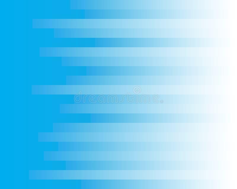 Hintergrund des blauen Streifens vektor abbildung