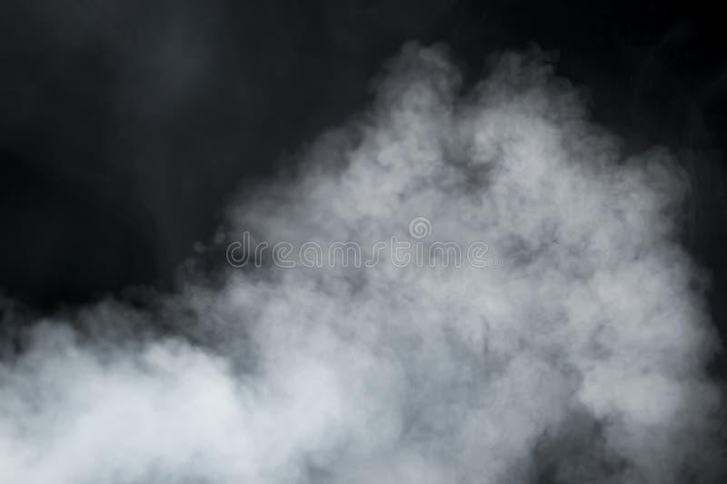 Hintergrund des dichten Rauches stockfoto