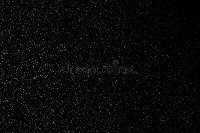 Hintergrund des Falling Snow Animation Loop stockfotografie