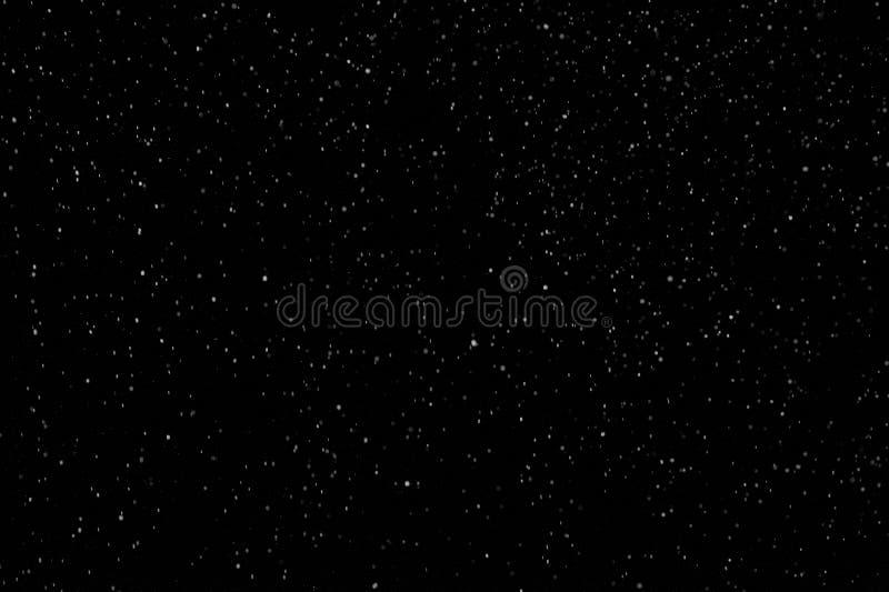 Hintergrund des Falling Snow Animation Loop lizenzfreie stockfotografie