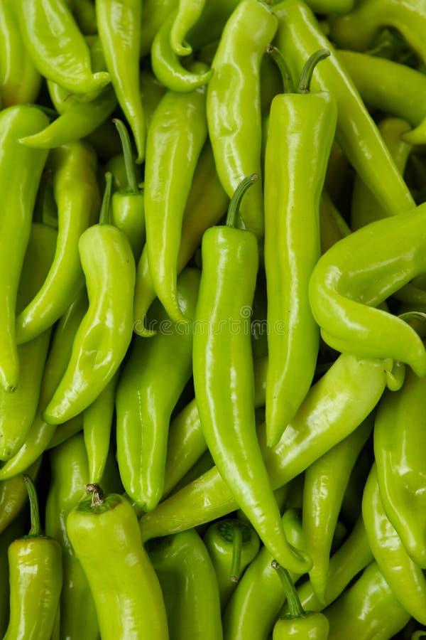 Hintergrund des grünen Pfeffers stockfotos