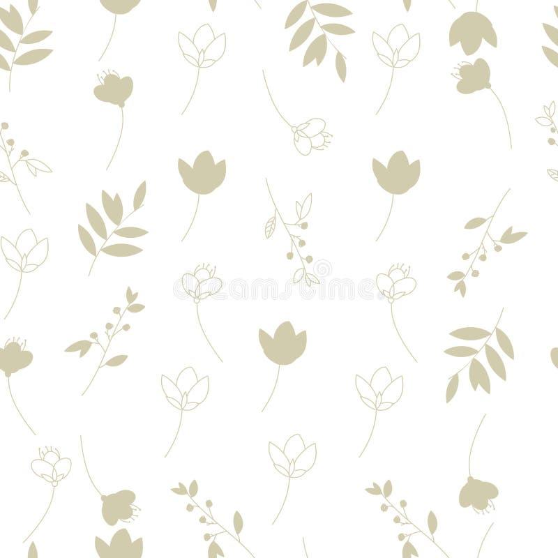 Hintergrund des Grases und der Blumen stockfotos