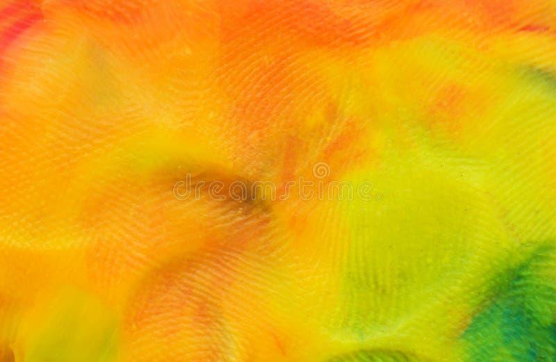 Hintergrund des mehrfarbigen Plasticine, Makrophotographie, Hintergrund lizenzfreie stockbilder