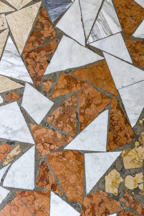 Hintergrund des Mosaiks stockbild