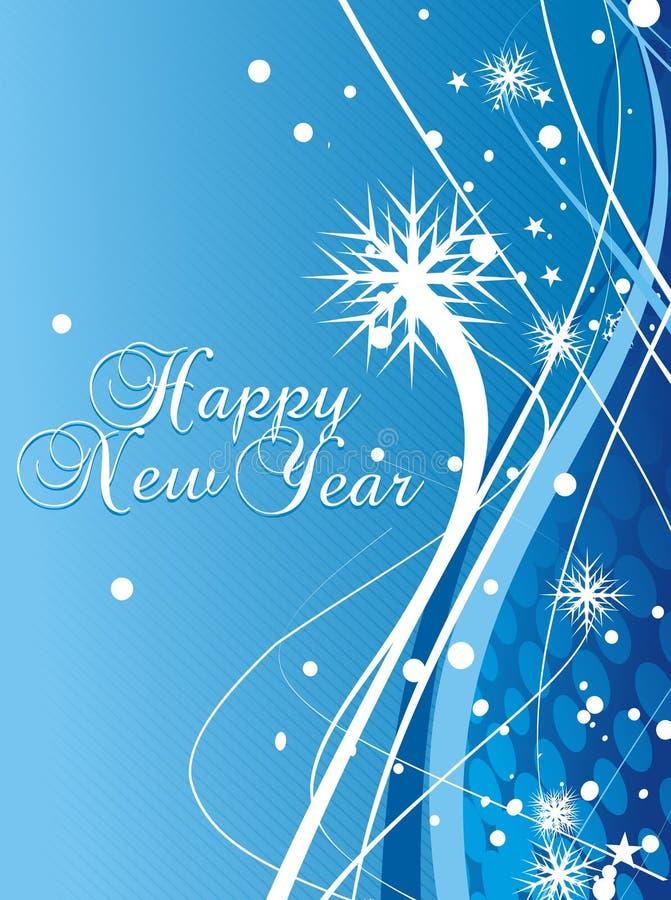 Download Hintergrund Des Neuen Jahres Vektor Abbildung - Illustration von stern, mitternacht: 12201880