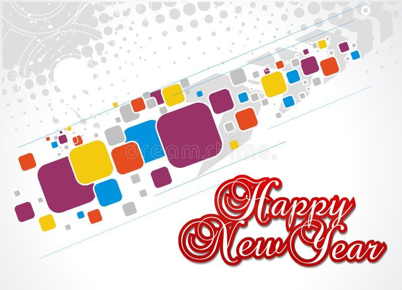 Download Hintergrund Des Neuen Jahres Vektor Abbildung - Illustration von editable, dekorativ: 12201939