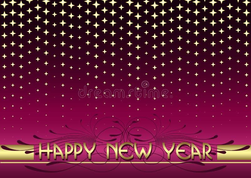 Hintergrund des neuen Jahres vektor abbildung