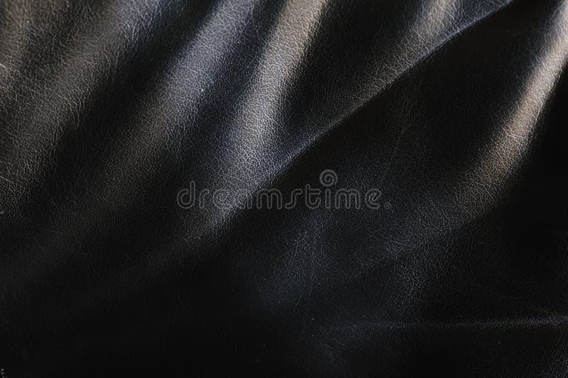 Hintergrund des schwarzen Leders