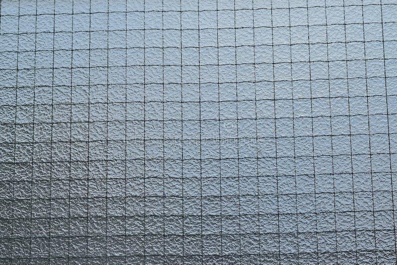 Hintergrund des verdrahteten Fensterglases lizenzfreies stockbild