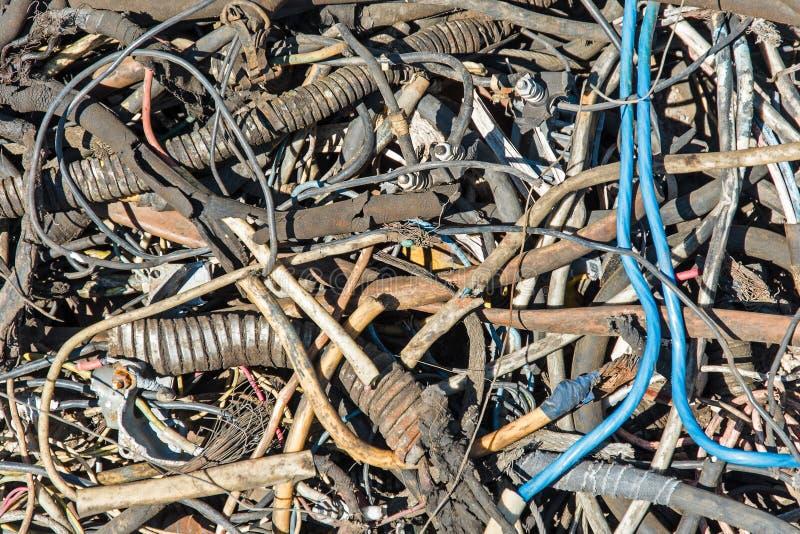 Hintergrund des verdrillten Kabelklebers lizenzfreies stockbild