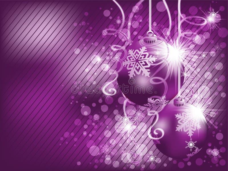 Hintergrund des Weihnachten Eps10 lizenzfreie abbildung
