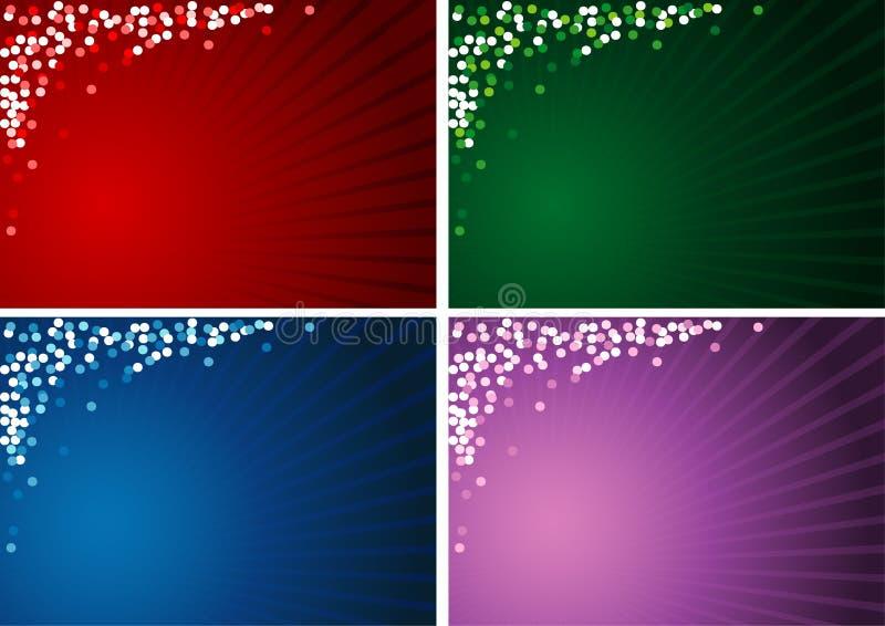 Hintergrund des Weihnachten4x vektor abbildung