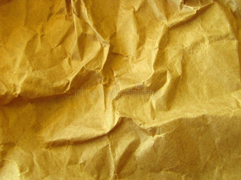 Hintergrund des zerknitterten Verpackungspapiers lizenzfreies stockbild