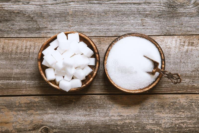 Hintergrund des Zuckers Würfelzuckerhintergrund lizenzfreie stockbilder