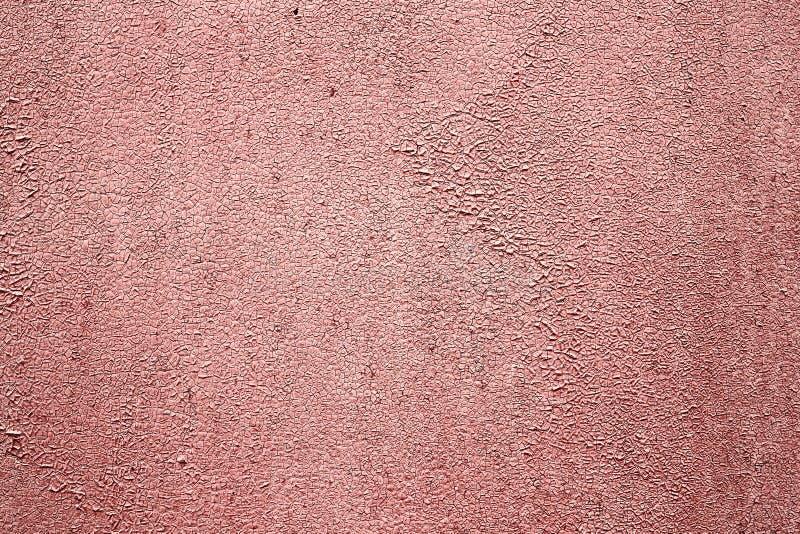 Hintergrund einer gemalten rosa Eisenblechtafel lizenzfreies stockfoto