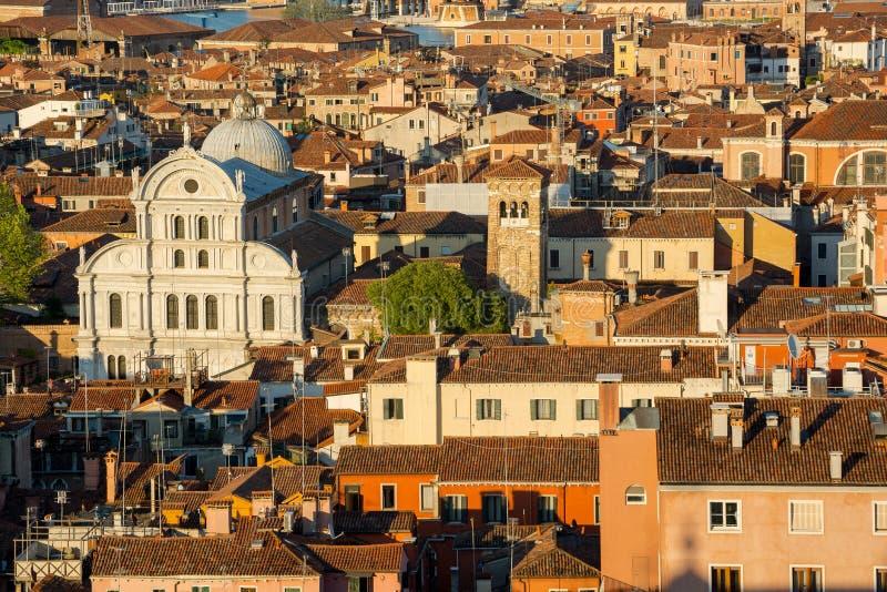 Hintergrund eines alten Häusers im Zentrum von Venedig, Italien lizenzfreies stockbild