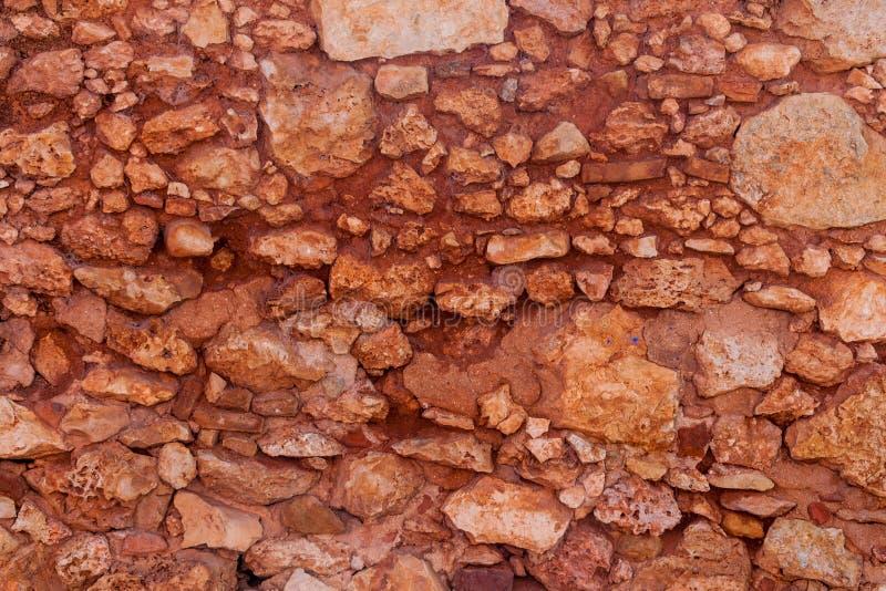 Hintergrund eines Stein-wa stockbild