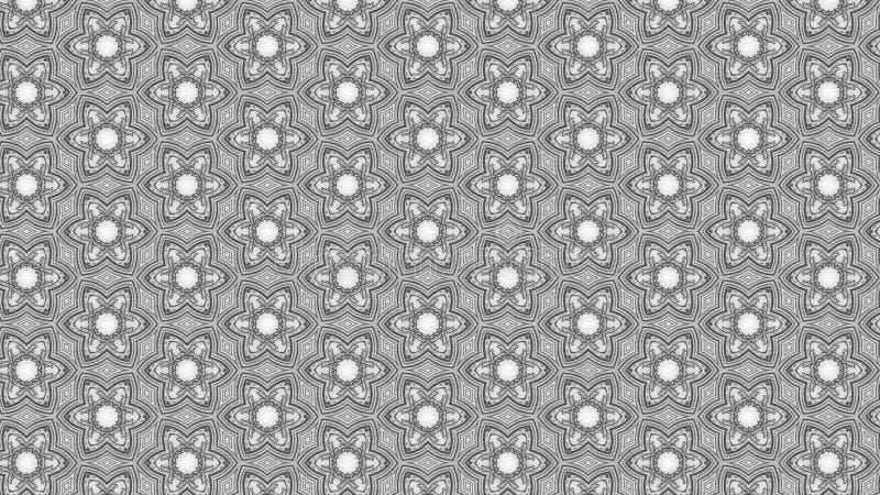 Hintergrund Entwurf der grafischen Kunst der Grey Floral Ornament Wallpaper Pattern-Grafik-schöner eleganter Illustration vektor abbildung