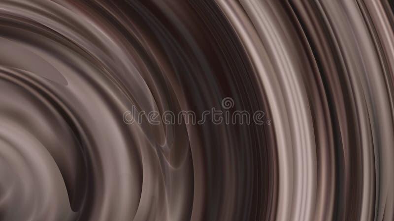 Hintergrund Entwurf der grafischen Kunst der Metall-Brown-synthetischer Gummi-Hintergrund-schöner eleganter Illustration lizenzfreie abbildung