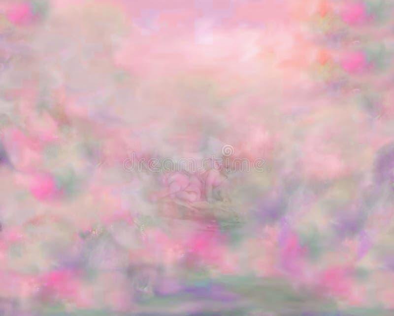 Hintergrund-entwurfs-engel Kostenloses Stockbild