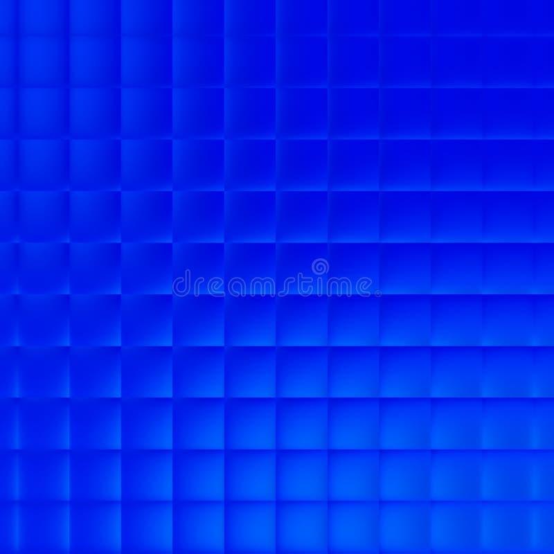Hintergrund für blaue Blöcke stock abbildung