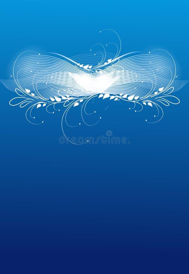 Hintergrund für eine Einladungskarte oder einen Glückwunsch stock abbildung