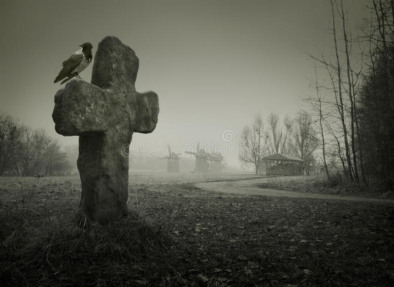 Hintergrund für Halloween stockbild