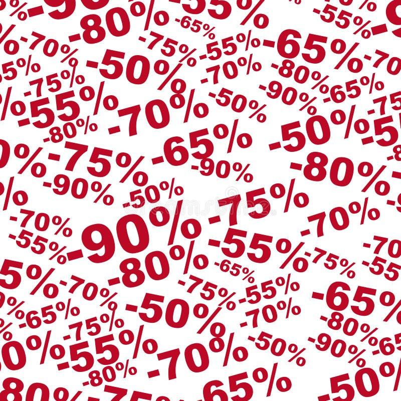 Hintergrund für Rabattverkauf lizenzfreie abbildung