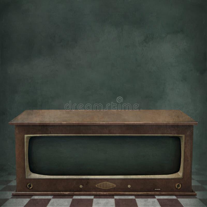 Hintergrund Fernsehen stock abbildung