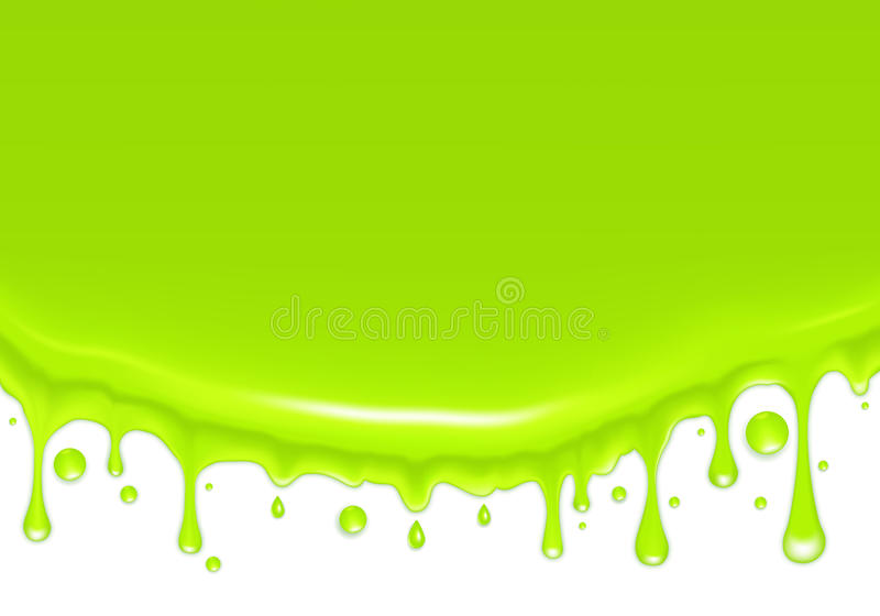 Hintergrund, grüne Tropfen vektor abbildung