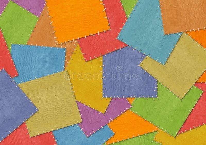 Hintergrund im Artpatchwork lizenzfreie stockbilder