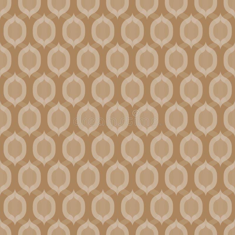 Hintergrund-Kakaobohnen Cofee nahtlose vektor abbildung