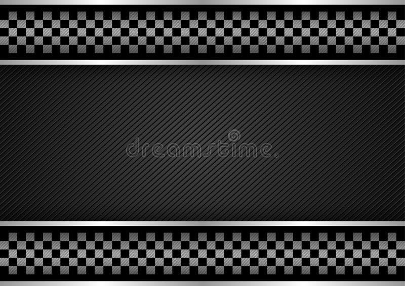 Hintergrund - Laufen von Dunkelheit lizenzfreie abbildung