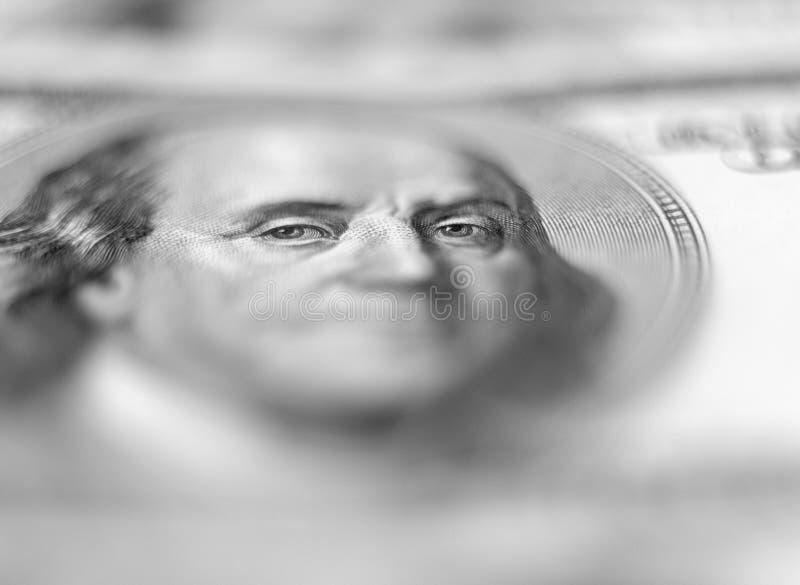 Hintergrund mit $100 Banknoten. lizenzfreie stockfotografie