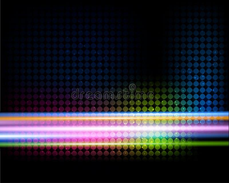 Download Hintergrund Mit Bunten Zeilen Vektor Abbildung - Illustration von glühen, verwischt: 26353732