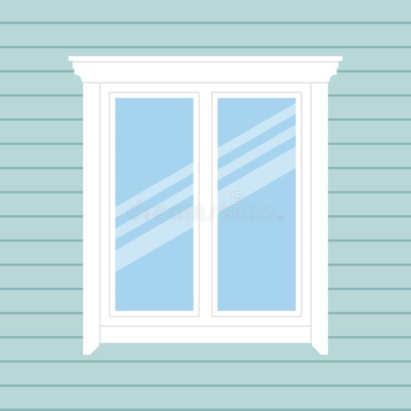 Hintergrund mit Fenster vektor abbildung