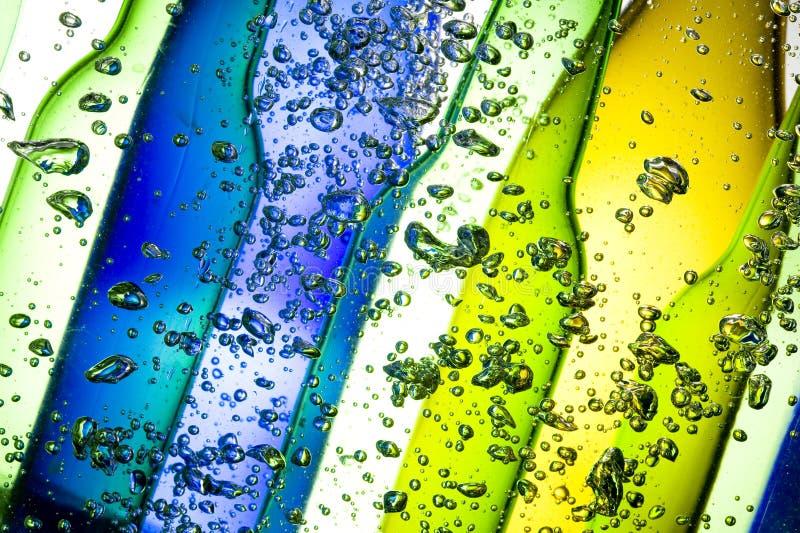Hintergrund mit Flasche stockfotografie