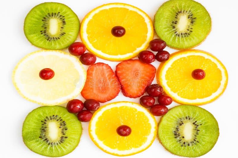 Hintergrund mit Frucht lizenzfreies stockfoto