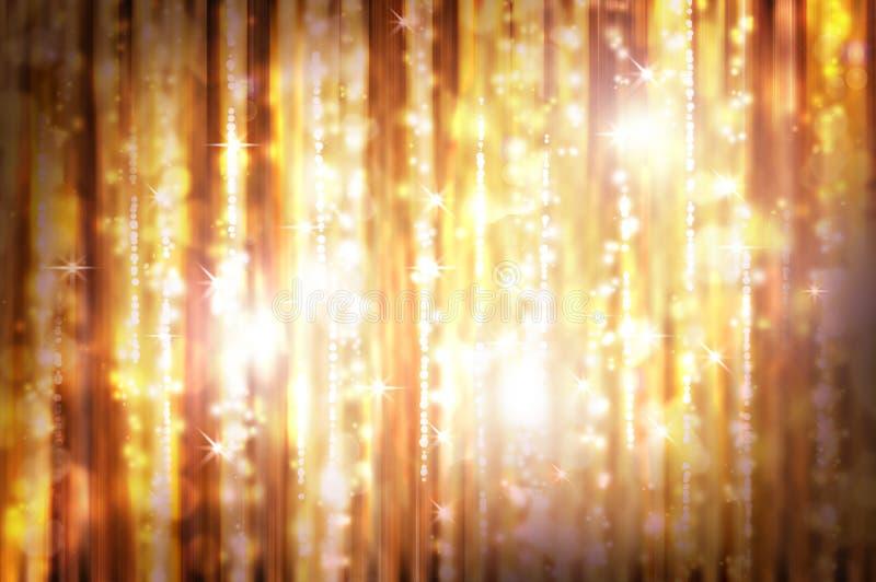 Hintergrund mit Lichtern lizenzfreie stockbilder