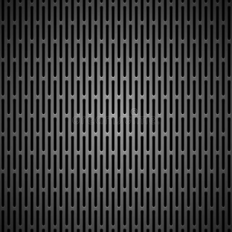 Hintergrund mit nahtloser schwarzer Kohlenstoff-Beschaffenheit