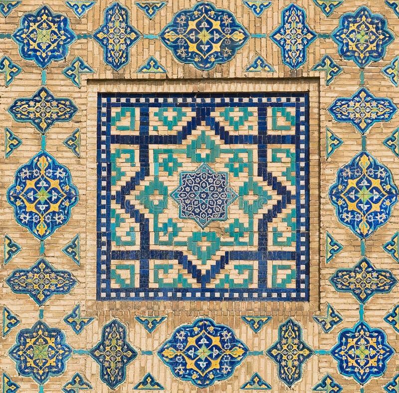 Hintergrund mit orientalischen Verzierungen lizenzfreie stockbilder