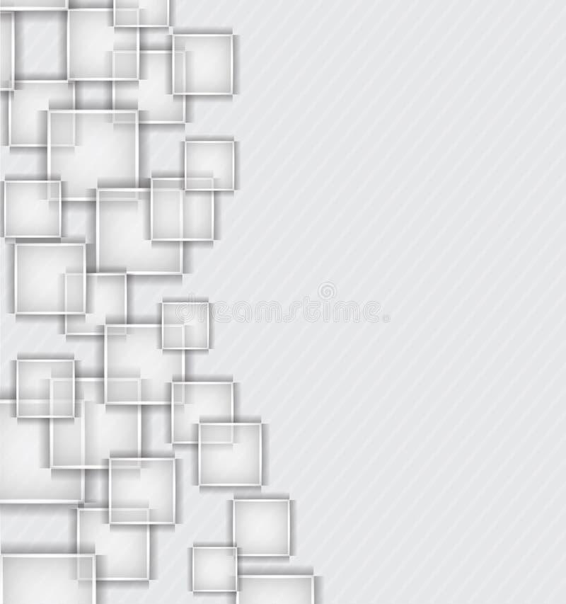 Download Hintergrund mit Quadraten vektor abbildung. Illustration von advertise - 26353471