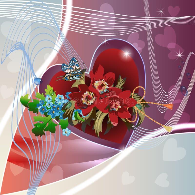 Download Hintergrund Mit Roten Pfingstrosen Vektor Abbildung - Illustration von botanisch, blatt: 26370555