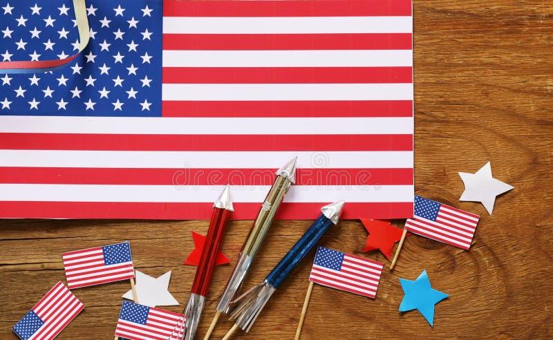 Download Hintergrund Mit Symbolen Von Amerika - Feier Vom 4. Juli Stockbild - Bild von gruß, juli: 90234921