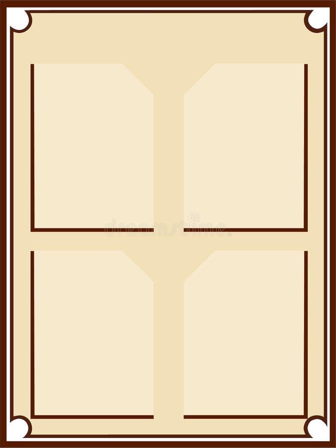 Hintergrund mit ursprünglichen Winkeln stockbild