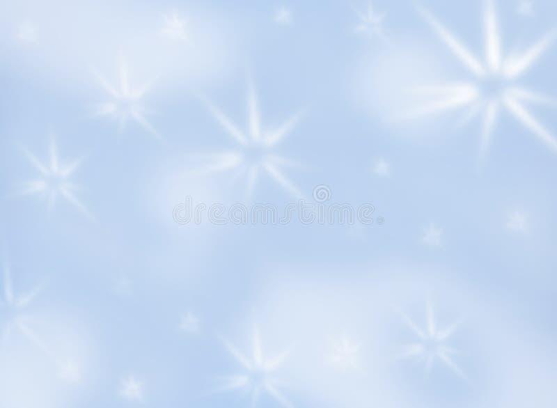 Hintergrund mit weißen Sternen lizenzfreies stockbild
