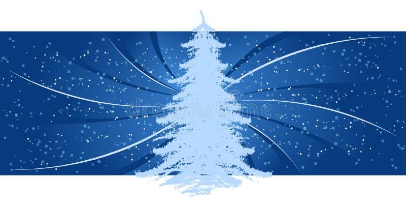 Download Hintergrund Mit Weihnachtsbaum Vektor Abbildung - Bild: 3264104