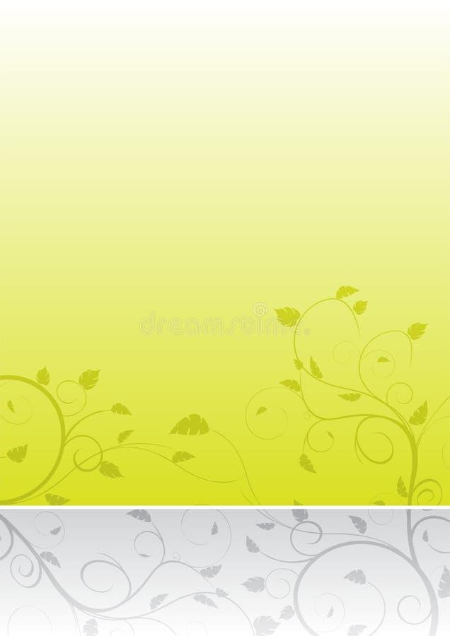 Hintergrund mit zwei Farben stock abbildung